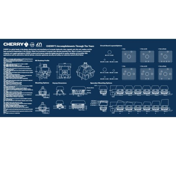 Blue-Cherry-mousepad-Authentic-logo