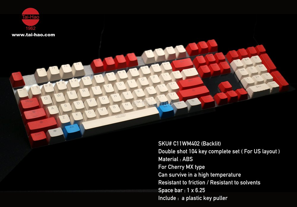 taihao-white-red
