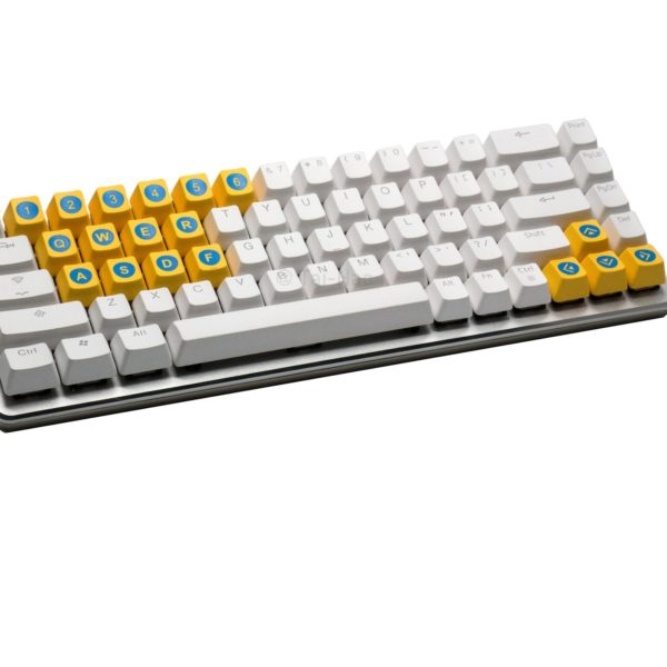 game-kit-keycap-taihao-yellow